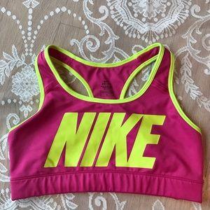 Nike raceback sports bra Dri-Fit size M